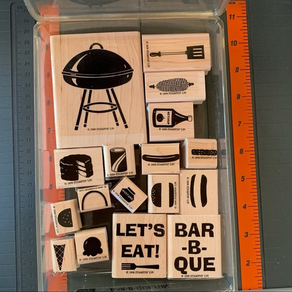Stampin' Up! BAR-B-QUE FUN